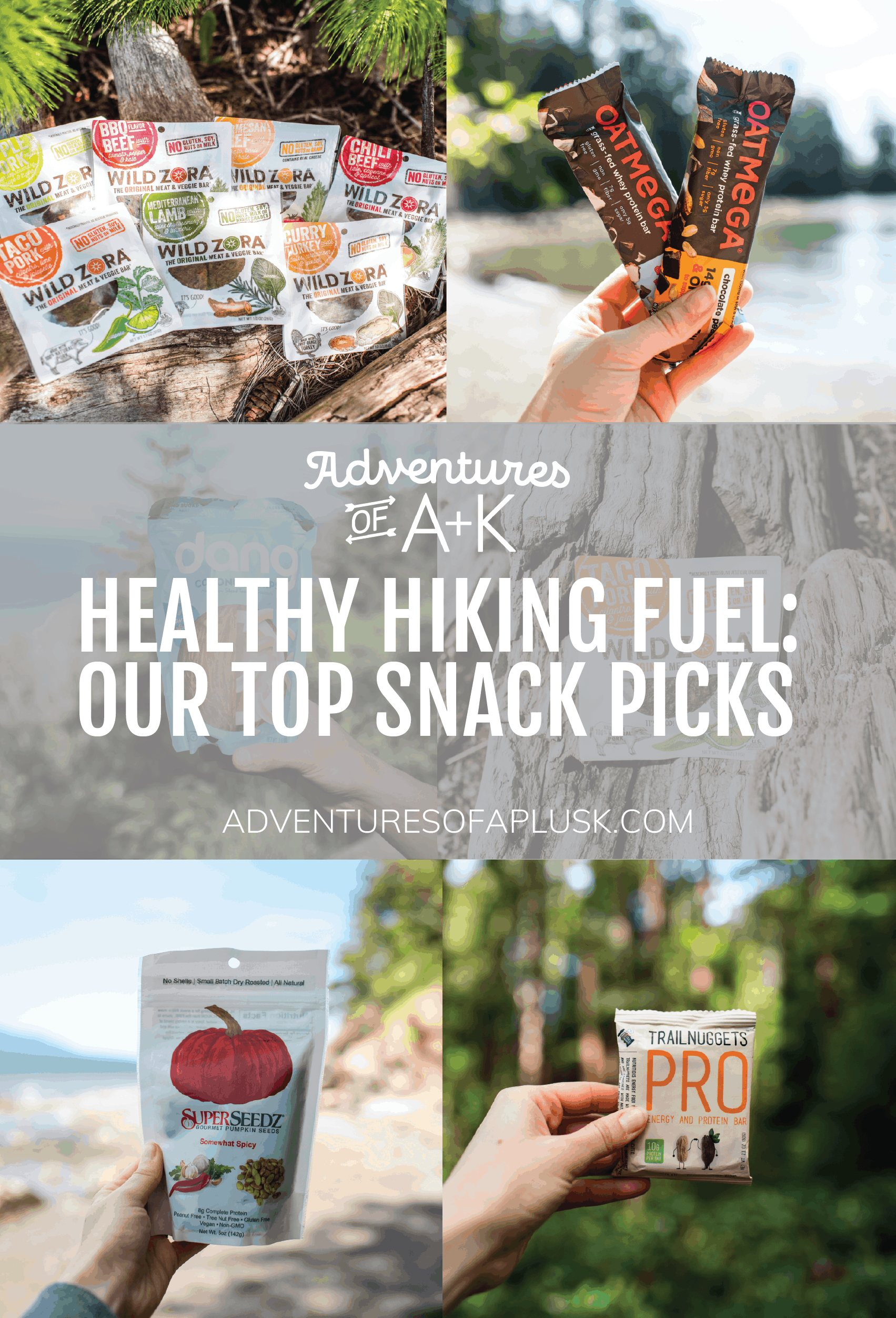 Healthy hiking snacks | Hiking food | Whole30 snacks | Keto snacks | Healthy Snacks | Protein Bars | Paleo Snacks | Hiking food ideas #keto #paleo #whole30