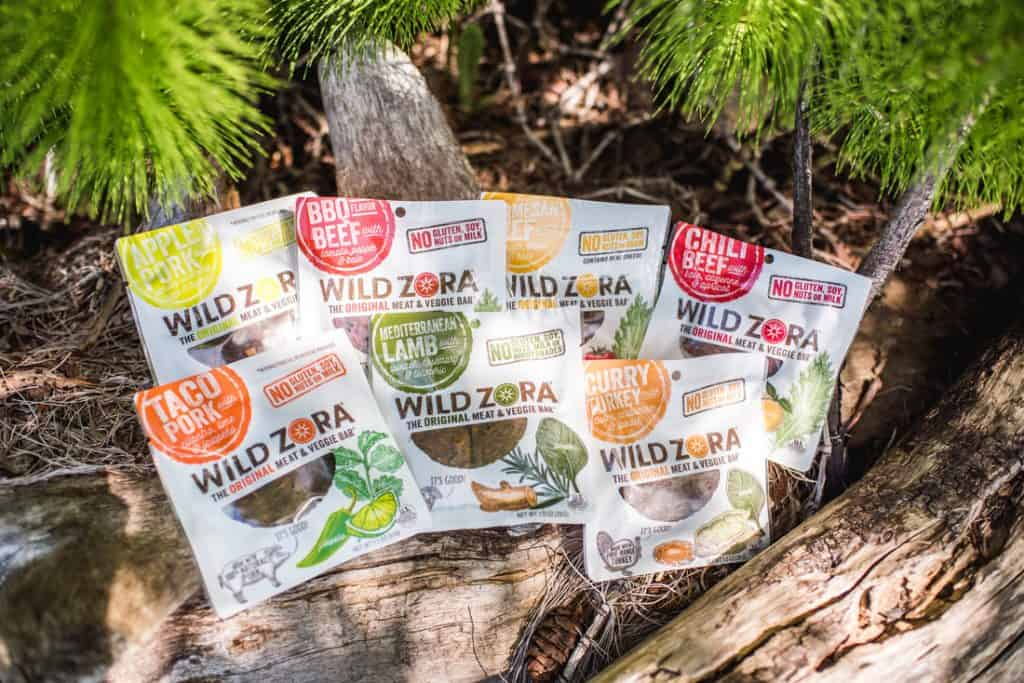 Wild Zora Meat and Veggie Bars Paleo
