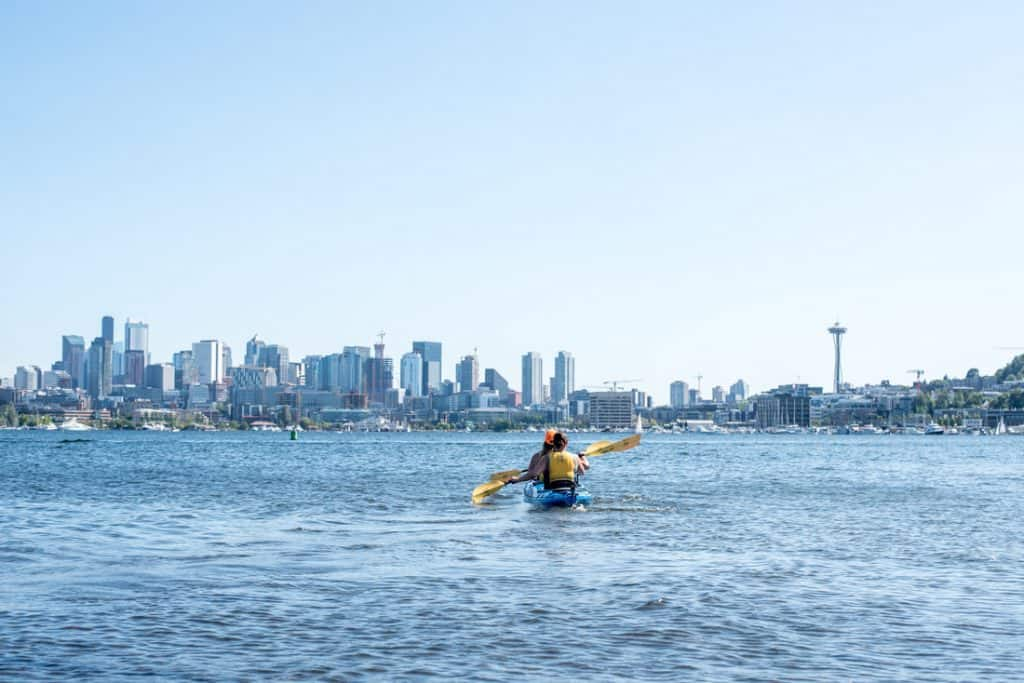 Lake Union Kayaking