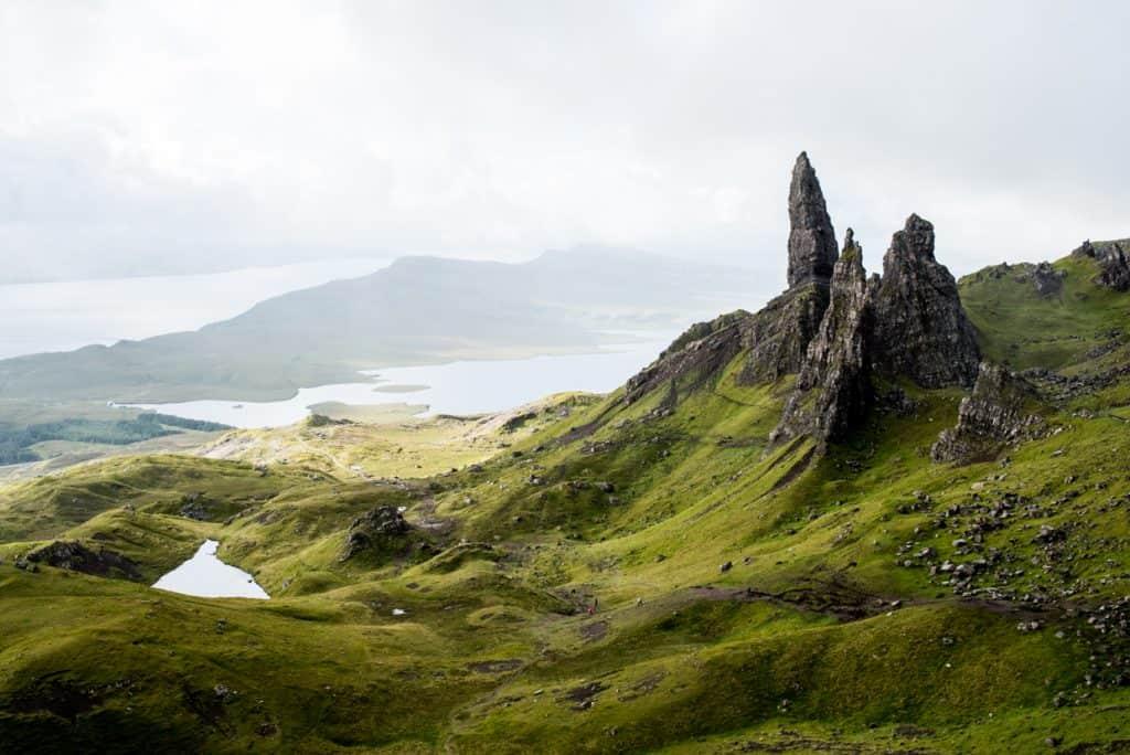 Isle of Skye Old Man of Storr Scotland