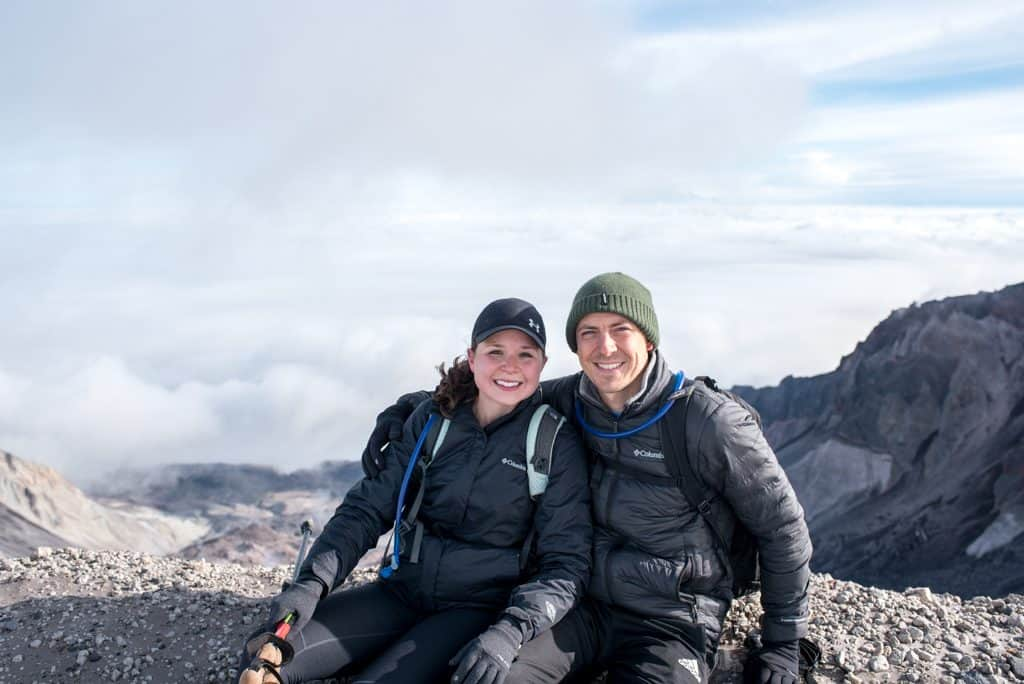 Summiting Mount St. Helens | Tips for Mount St. Helens | What to pack Mount St. Helens | Mount St. Helens permit | #MountStHelens #Washington