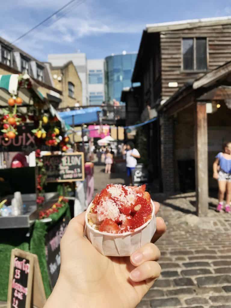 Camden Market - Gluten Free And Vegan Cookie Dough