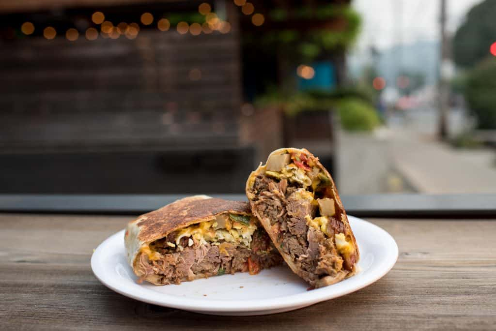 Stoneway Cafe Seattle Breakfast Burrito | Seattle Breakfast | Cheap Eats in Seattle | Seattle Restaurants | Where to eat in Seattle | Affordable restaurants Seattle | Seattle on a budget #Seattle #CheapEats