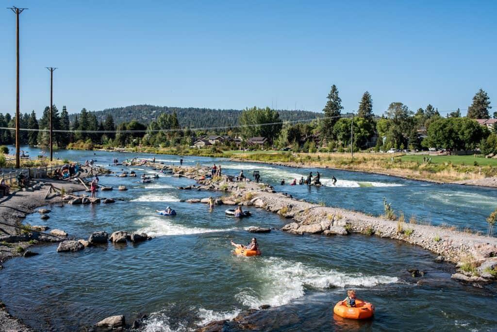 Bend, Oregon Whitewater Park