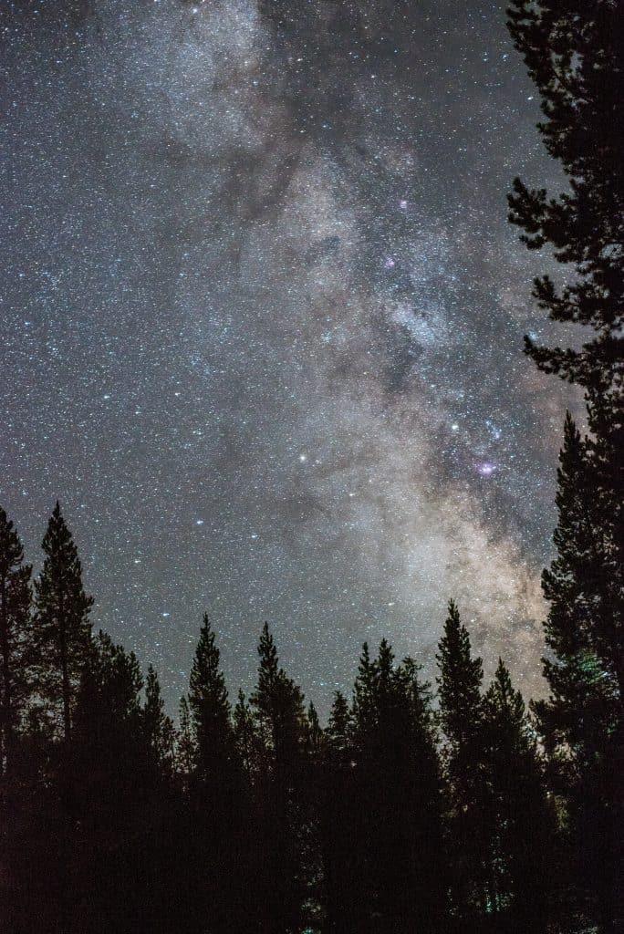 Lava Lake Campground Bend, Oregon   Milky Way