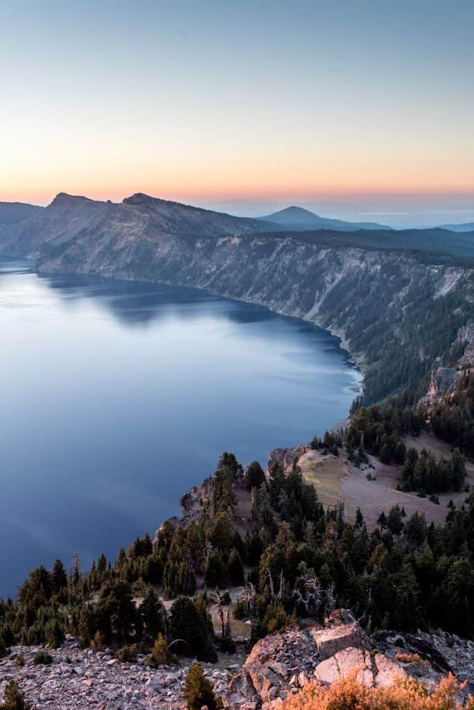Crater Lake National Park Sunrise