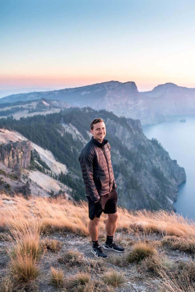 Crater Lake National Park Sunset