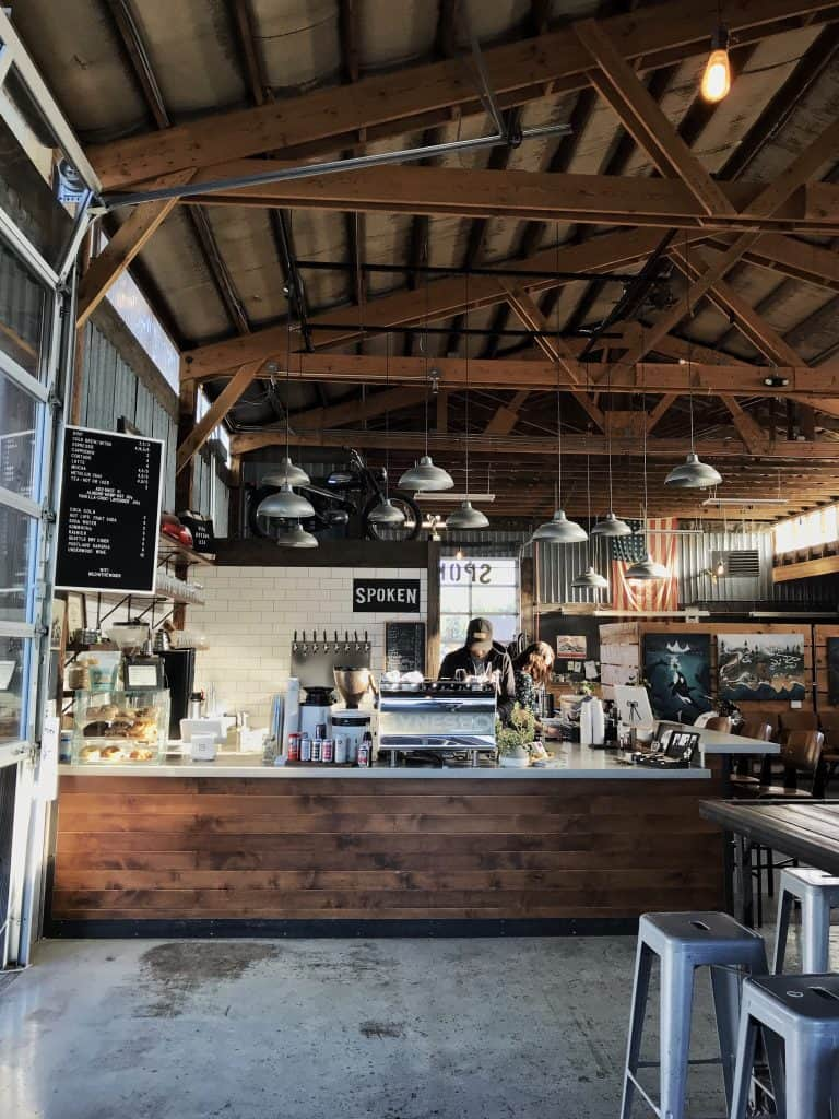 Spoken Moto Coffee Bend, Oregon