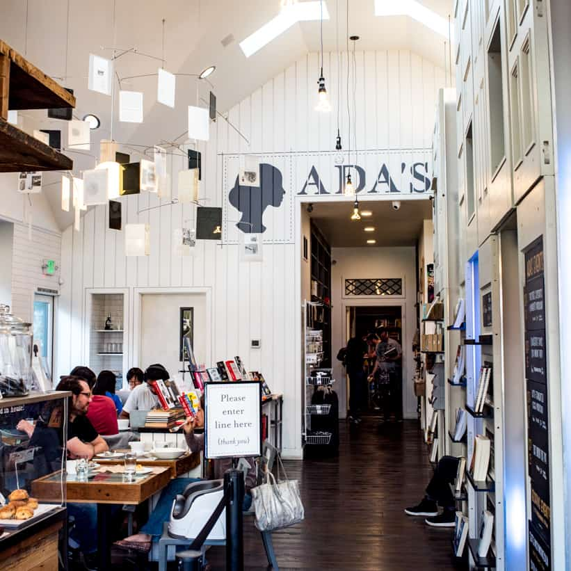 Ada's Technical Books and Cafe Seattle