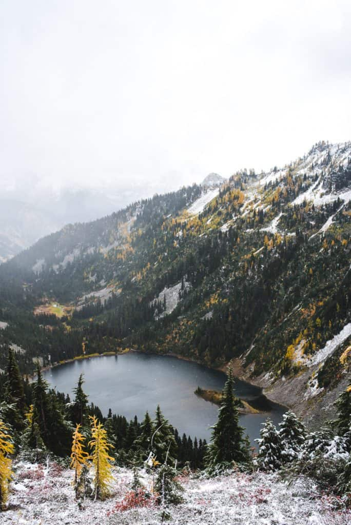 Heather-Maple Pass Loop North Cascades Washington | Fall Hikes in Washington
