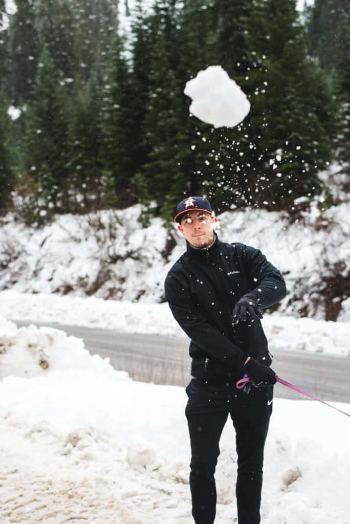 Washington winter snow