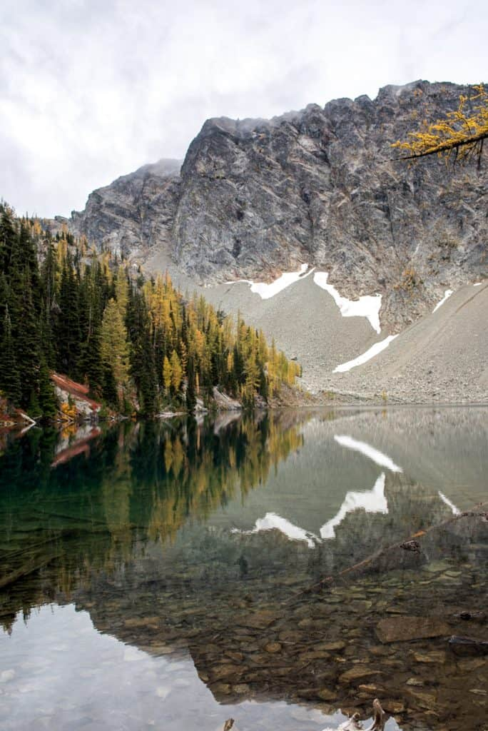 Blue Lake North Cascades Washington | Fall Hikes in Washington