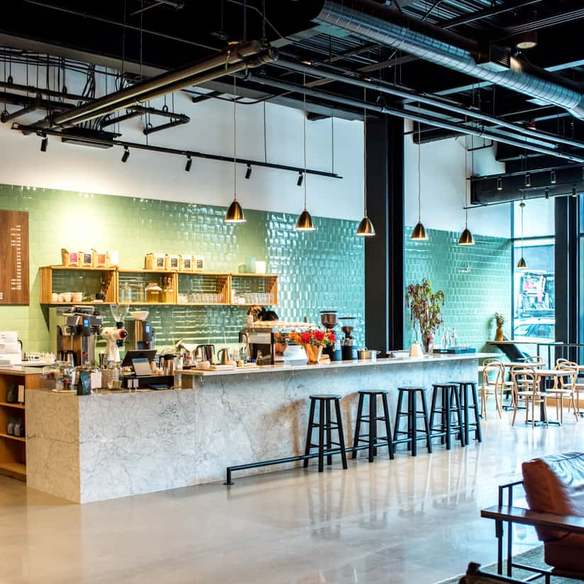 Elm Coffee Roasters Seattle