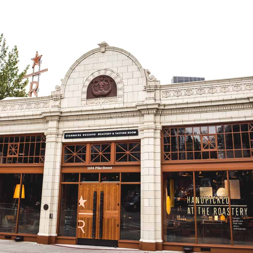 Starbucks Reserve Roastery Seattle