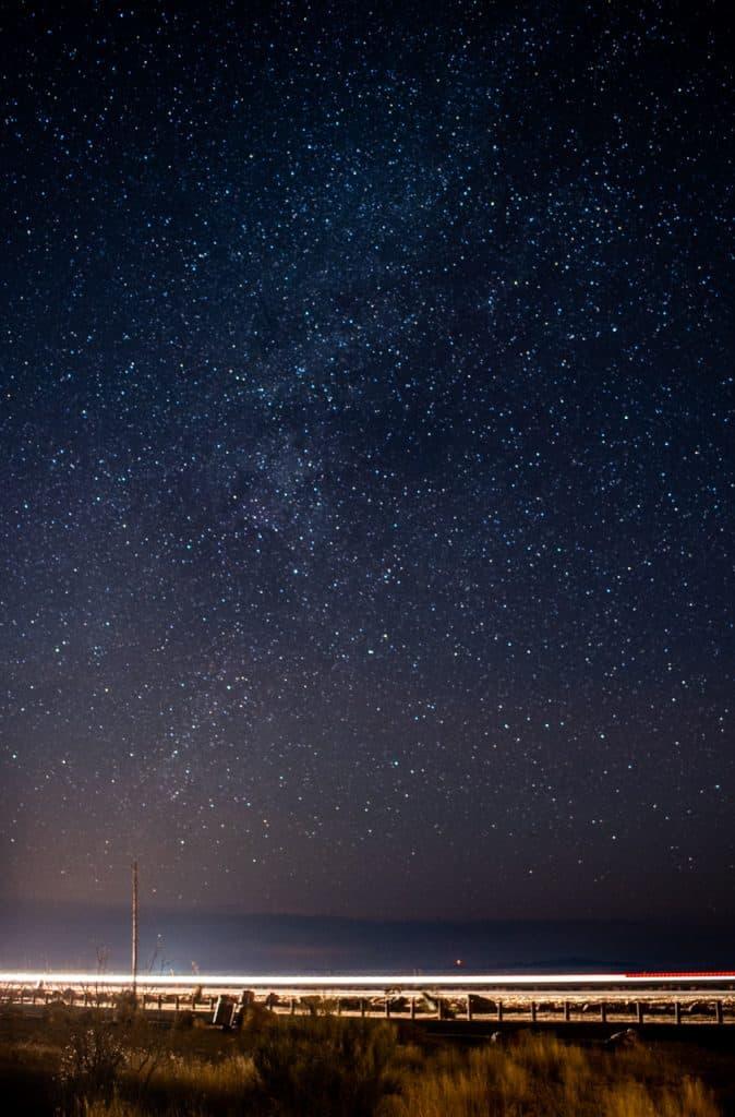 Marfa Lights Night Sky