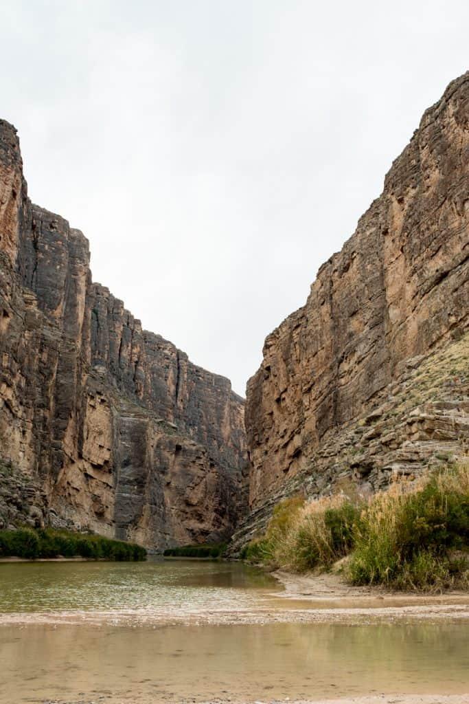 Santa Elena Canyon Big Bend National Park
