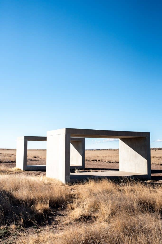 Chinati Foundation 15 Untitled Works in Concrete