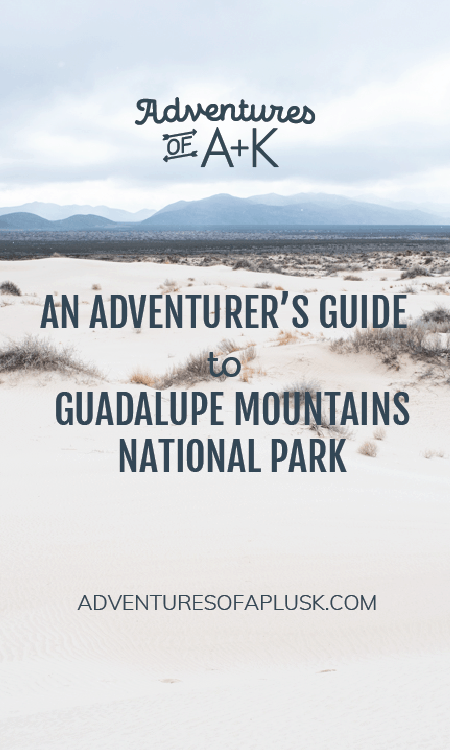 Guadalupe Mountains National Park | Guadalupe Mountains National Park Guide | Guadalupe Mountains National Park Hikes | Where to stay Guadalupe Mountains National Park | Where to eat Guadalupe Mountains National Park | Camping Guadalupe Mountains National Park | Guadalupe Peak | Devils Hall | Sand Basin Dunes | McKittrick Canyon | The Bowl Guadalupe Mountains National Park | Texas Hikes | Best Hikes Guadalupe Mountains National Park