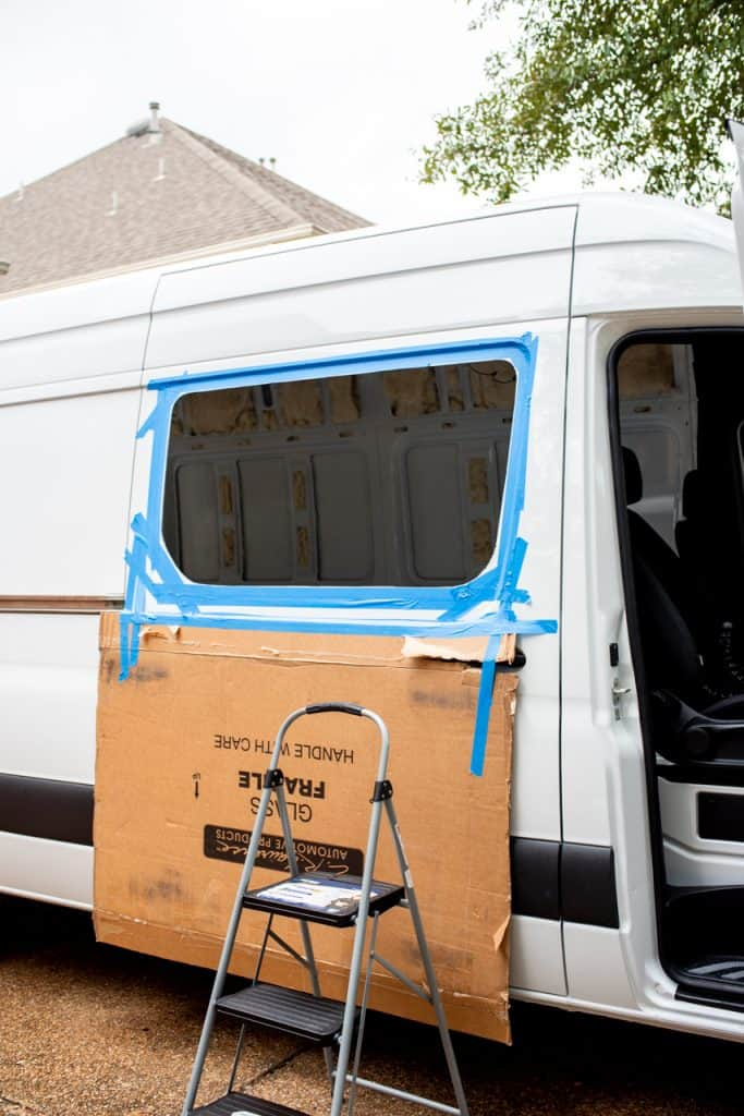 Installing Van Windows | Installing Sprinter Windows | Van Life Mercedes Sprinter | Van Conversion | Van Layout | Sprinter Conversion | Sprinter Layout | Van Build