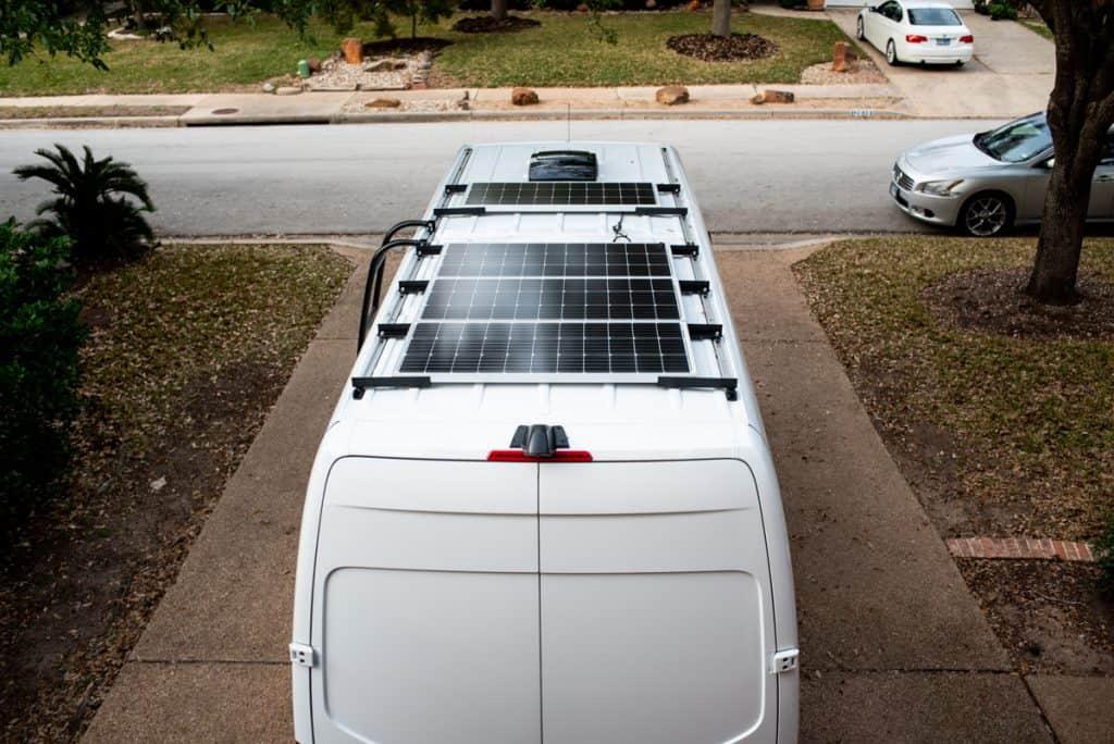 Van Conversion Fan | Van Conversion Solar Panels | Van Conversion Ladder | MaxxAir Fan | Renogy Solar Panels | Aluminess Ladder | How to install MaxxAir fan | How to install Renogy solar panels | How to install Aluminess ladder | Van Build | Van Conversion