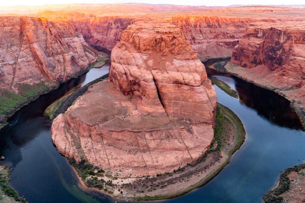 Horseshoe Bend Sunrise Page Arizona