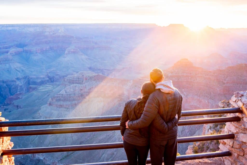 Grand Canyon Sunrise Yavapai Point