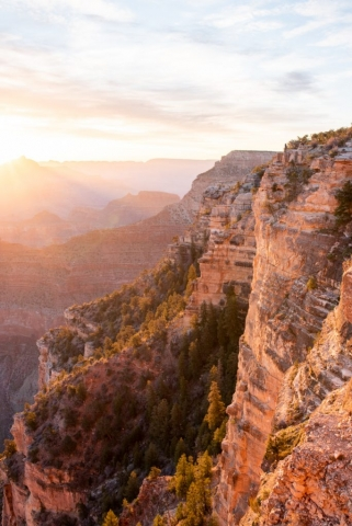 Grand Canyon South Rim Sunrise