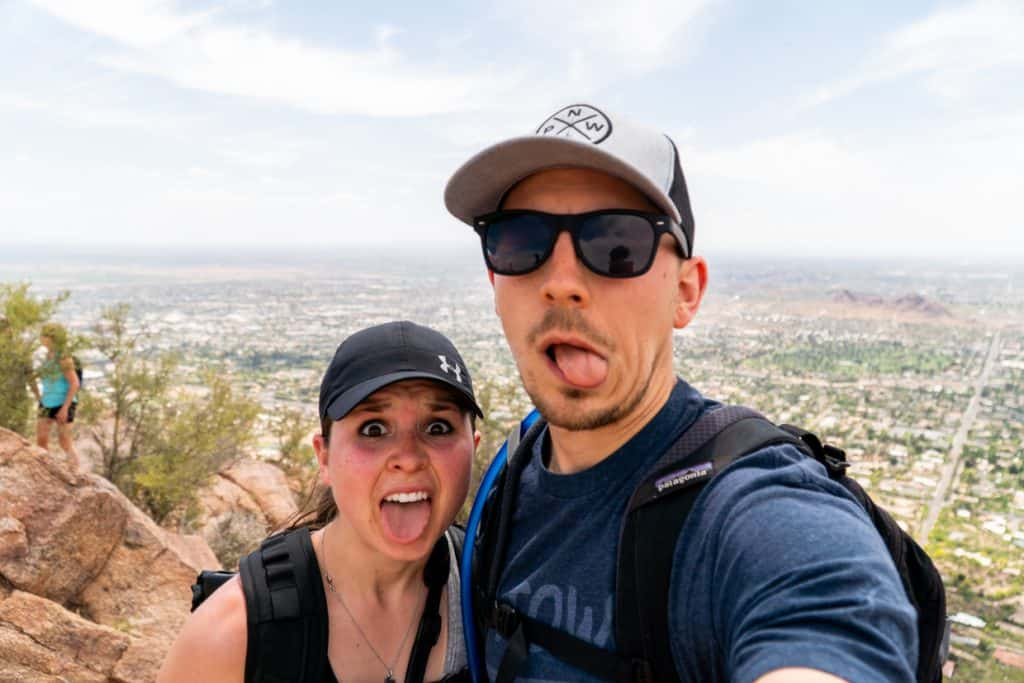 Vlog: Hiking Camelback Mountain + Our Last Day in AZ