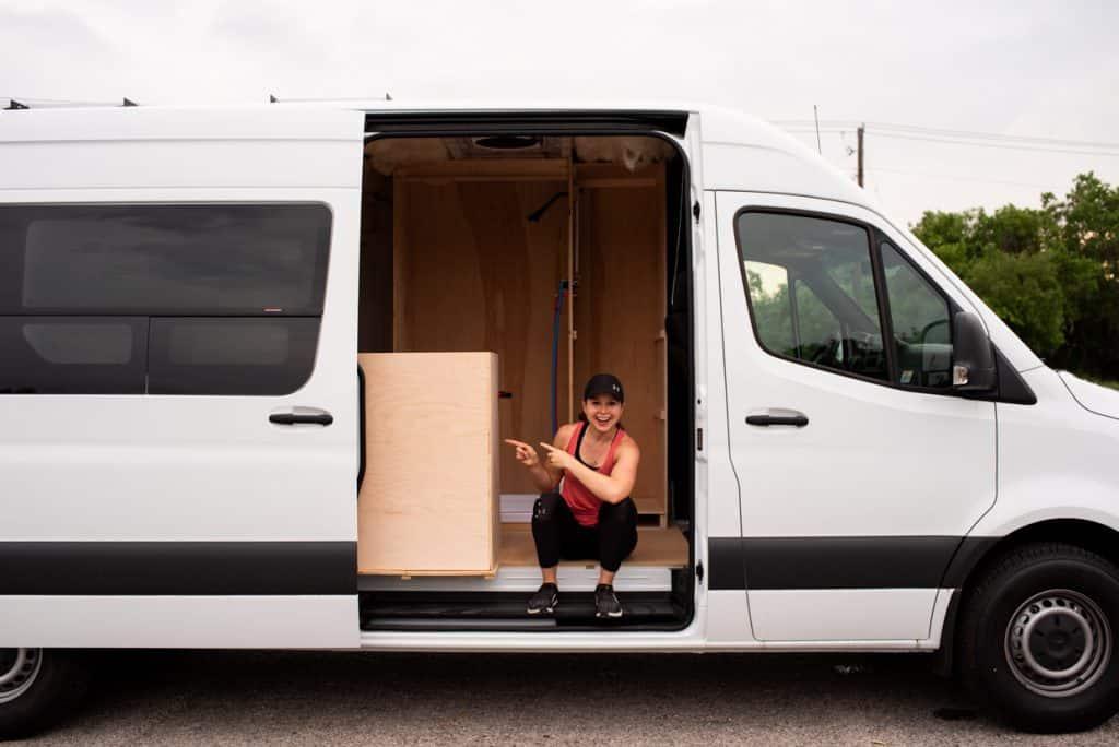 Van Conversion Cabinets