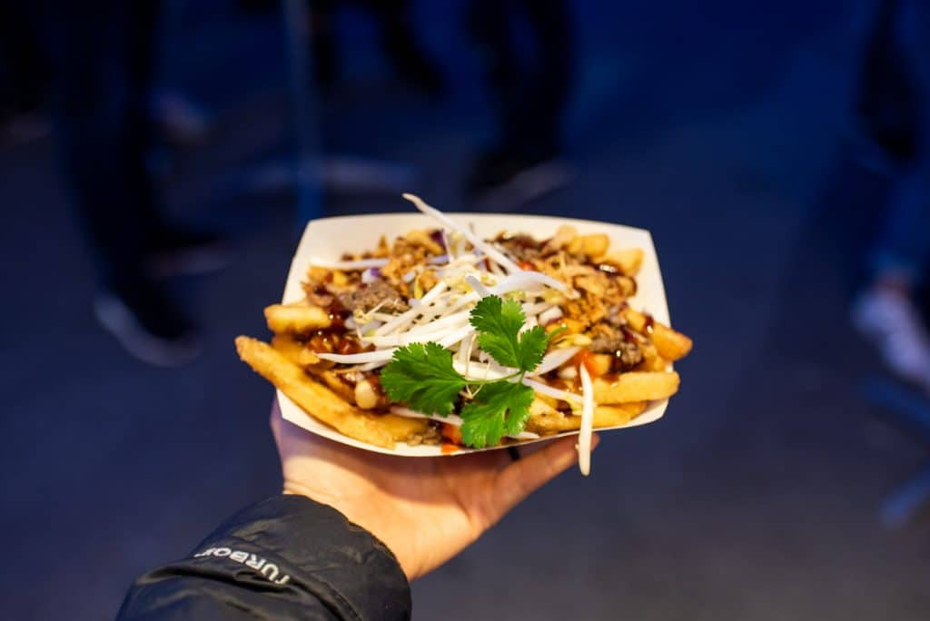 Pho Fries  at Fries and Things | Richmond Night Market | Best food Richmond NIght Market | Must eat food Richmond Night Market | Vancouver Night Market | Richmond Night Market Food