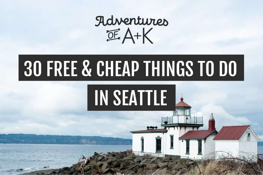 Free and cheap things to do in Seattle | Seattle on a budget | Free Seattle | Cheap Seattle | Things to do in Seattle | Seattle things to do | Washington things to do | Things to do in Washington | Seattle Washington | Seattle Washington things to do | Free and cheap Seattle Washington