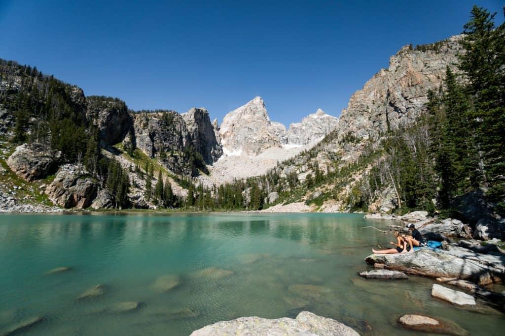 Delta Lake Grand Teton National Park