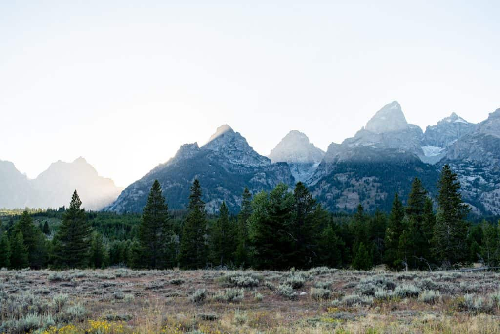 Hiking to Hidden Falls & Inspiration Point at Grand Teton National Park
