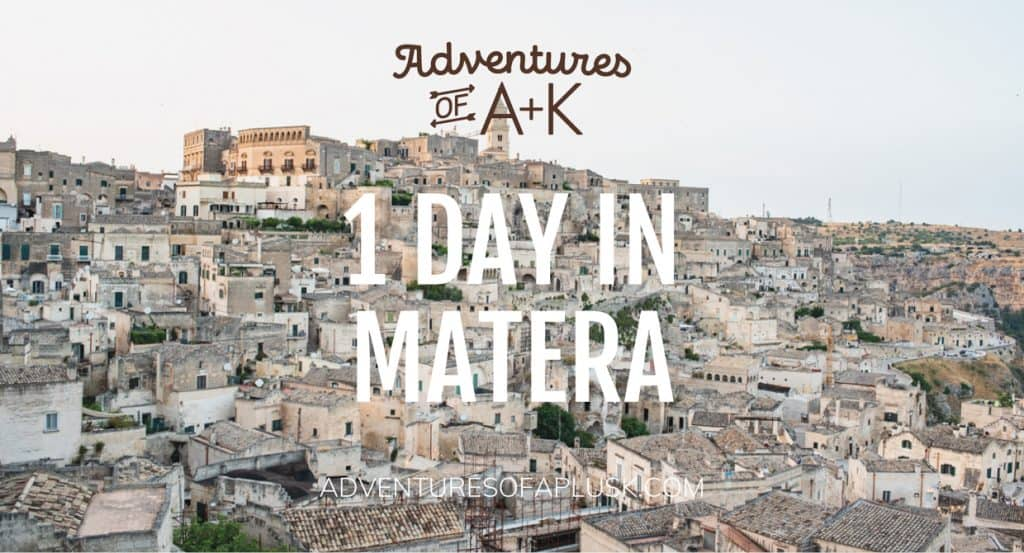 1 Day in Matera, Italy | Matera Travel Guide | Matera Itinerary | Things to do in the Matera | Where to stay in Matera | Best gelato Matera | Best food Matera | What to do in Matera | Matera, Italy | Where to eat in Matera | 1 Day Itinerary Matera