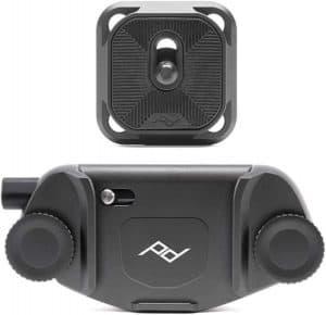 Peak camera clip