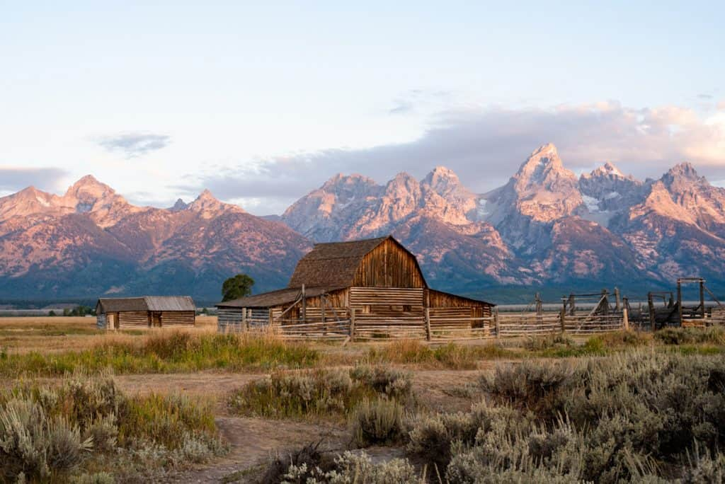Mormon Row | 3 Days at Grand Teton