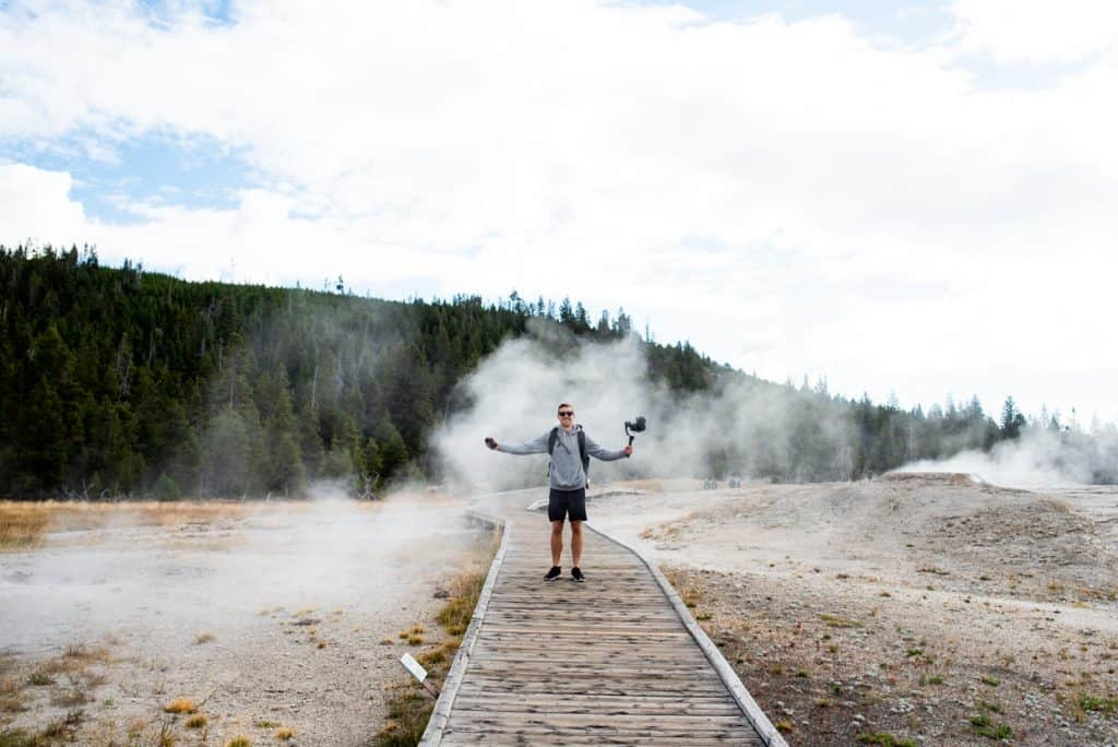 Upper Geyser Basin | 2 Days at Yellowstone