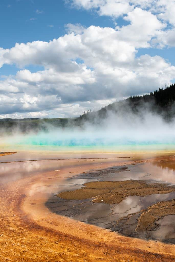 2 Days at Yellowstone Grand Prismatic Spring