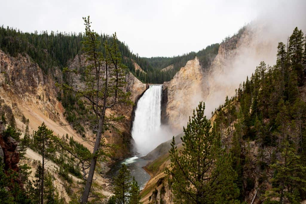 Grand Canyon of the Yellowstone | Yellowstone Falls | 2 Days at Yellowstone