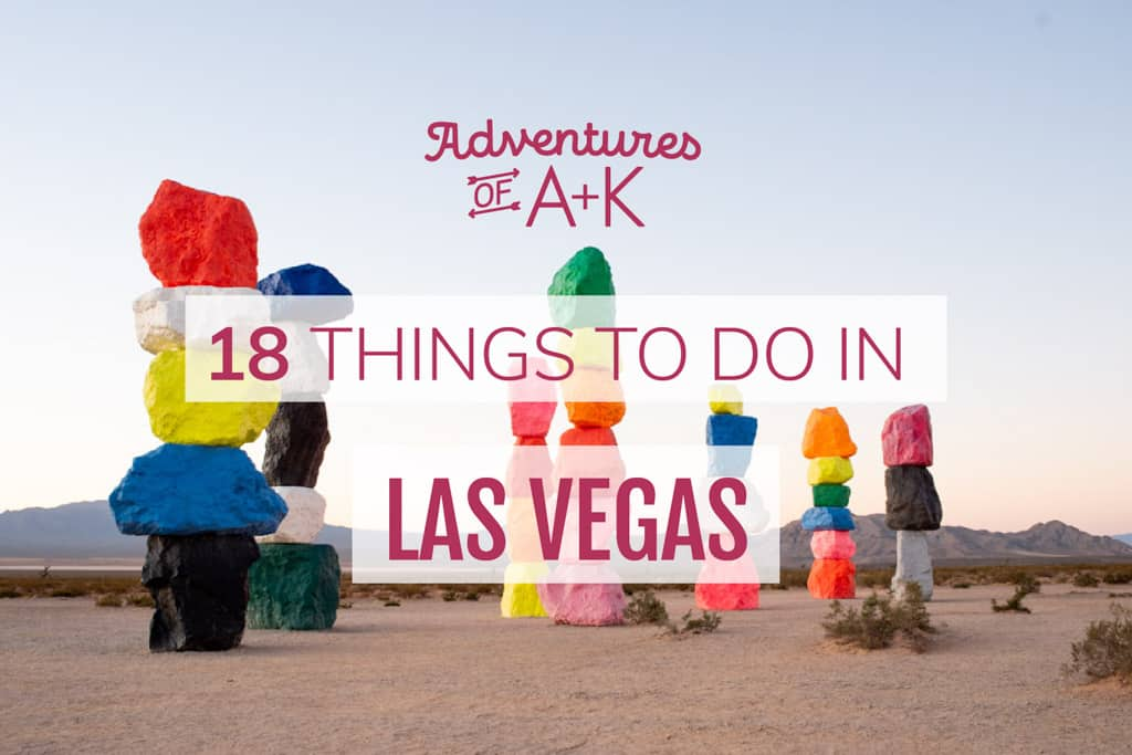 18 things to do in Las Vegas (without alcohol!)