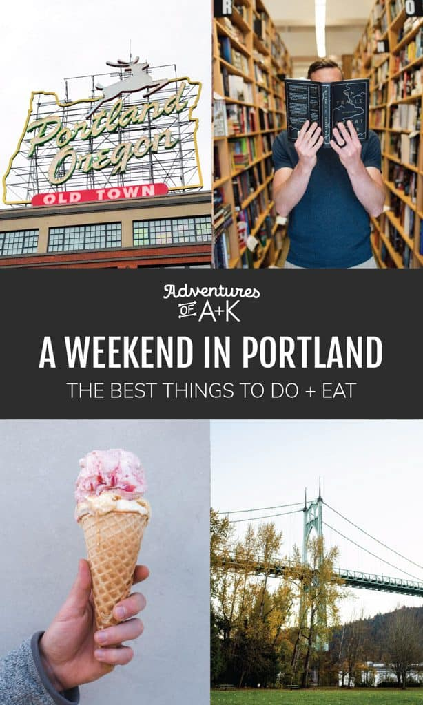 A weekend in Portland Oregon | 2 Days in Portland | Portland Oregon itinerary | Portland Guide | Things to do in Portland | Best food Portland | Where to eat Portland | Columbia River Gorge | Portland hikes | Where to stay in Portland | Portland Things to Do | Portland Food
