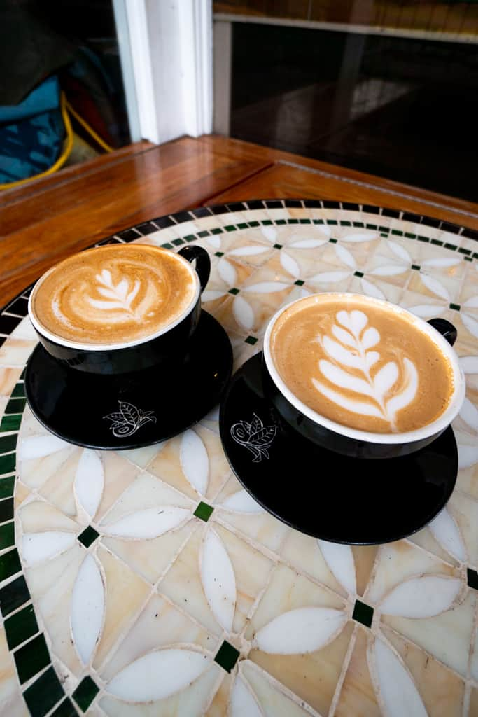 Coffee at Kona Coffee & Tea | Things to do on the Big Island
