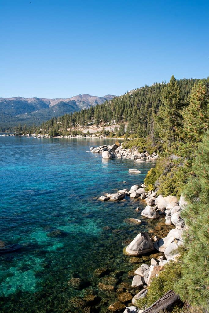 East Shore Trail Lake Tahoe