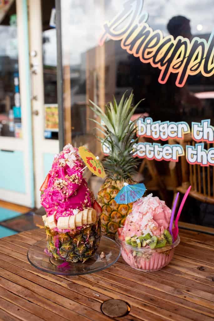 Acai Bowls at Makani's Magical Pineapple Shack | Things to do on the Big Island