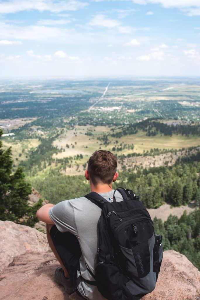 Royal Arch Boulder-4 Days in Colorado