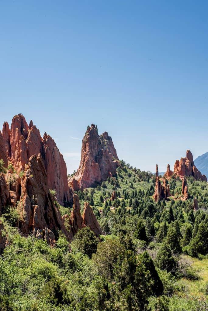 4 Days in Colorado Garden of the Gods
