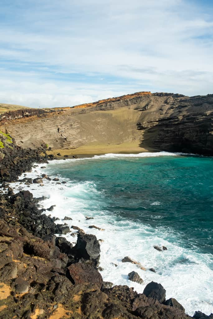 Papakolea Green Sand Beach Big Island