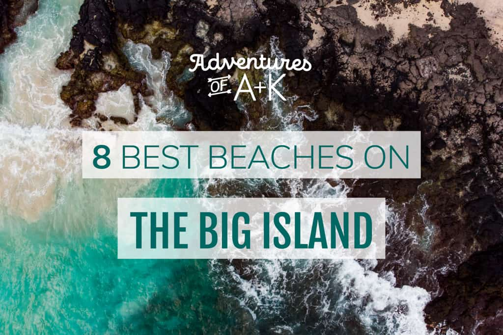 8 Best Beaches on the Big Island | Big Island Beaches | Best Beach Big Island | Kua Bay | Makalawena Beach | Magic Sands Beach | Hapuna Beach | Papakolea Beach | Green Sand Beach | Green Sand Beach Big Island | Pololu Valley | Waipio Valley | Punalu'u Black Sand Beach | Black Sand Beach Big Island | How to get to the green sand beach Big Island | Hiking to Pololu Valley