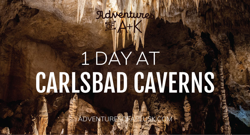One Day at Carlsbad Caverns National Park