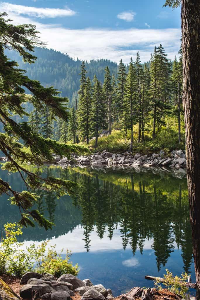 Ira spring Mason Lake